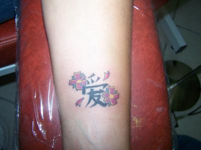 Lettre Chinoise Sous Le Poignet Tattoo Stars