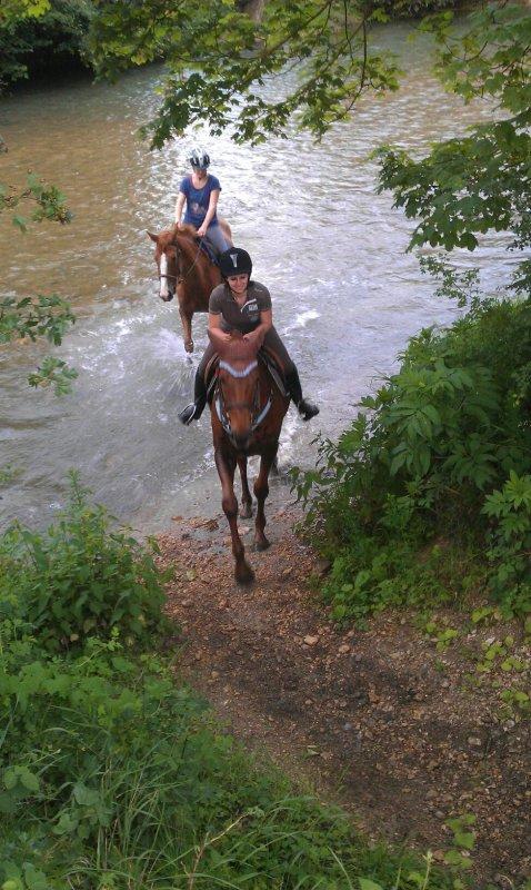 lorraine à cheval