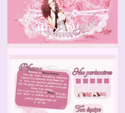 Version 6 Rihanna Addict' ! ♥