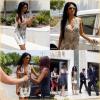 -- Lundi 27 Août 2012 : Nicole Scherzinger est à Dubaï en compagnie de Ne-Yo dans la maison des juges pour affiner choisir ses talents.  Nicole aborde ici une robe blanche courte accompagnée d'une paire de Daffodile couleur Nude du très célèbre Christian Louboutin  ; Top! --