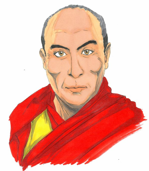 Les 18 règles de vie du Dalai-Lama.