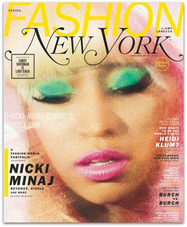 Nicki pose pour plusieurs magasines, + Nicki au Gammys Awards.