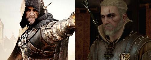 """Enkil Acciari (Sorceleur) - Inspiré du personnage de Geralt du jeu  """"The Witcher"""""""
