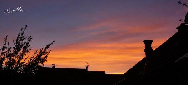 Un beau ciel ....