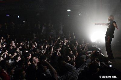 En  Concert à Nig rien ke du lourd avek le Public