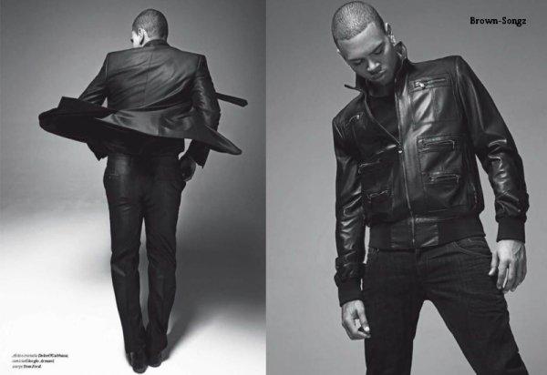 17/03/11: Encore un nouveau Photoshoot pour Chris dans le Magazine GQ Italia ! (Avril)