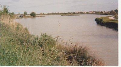 """Les lacs sont peu nombreux en Charente-Maritime, en voici un: """" Le lac de Saujon"""""""