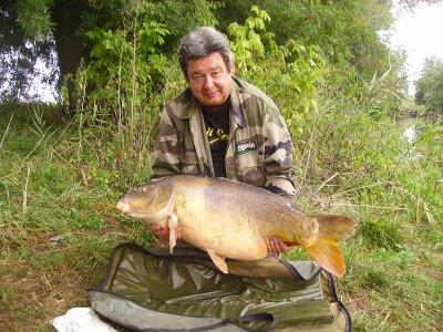 Mon plus gros poisson de 2011.(20,540kg)