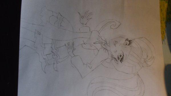 Dessin de Draculaura