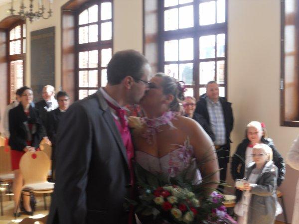mariage de lulu et chris le 20 avril 2013