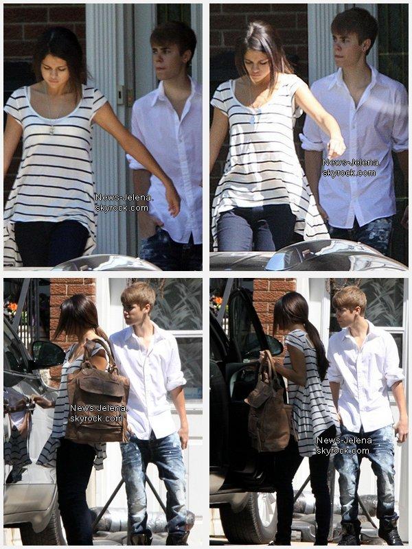 _____________________________________________________________________________Justin Bieber et Selena Gomez quittent la maison de Justin, Stanford (o3.o6.11) ______________________________________________________________________________[/c