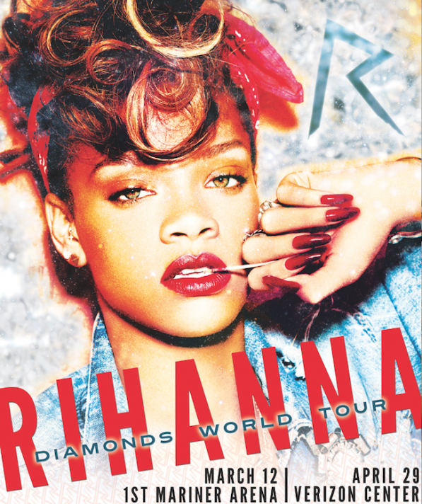 "Rihanna sa tournée mondiale ""Diamonds World Tour"""