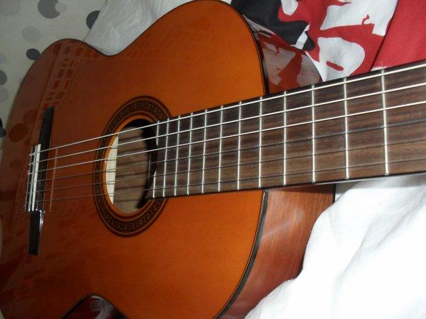 .  C'est l'histoire d'une simple guitare et d'une simple fille.  Unies par la musique. .