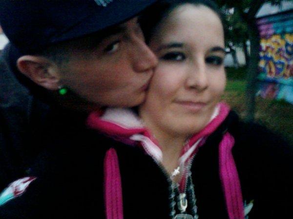Mon chéri et moi :) <3