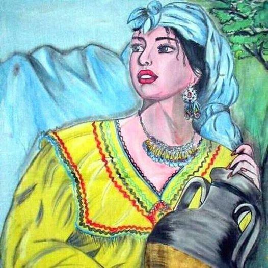 la femme kabyle