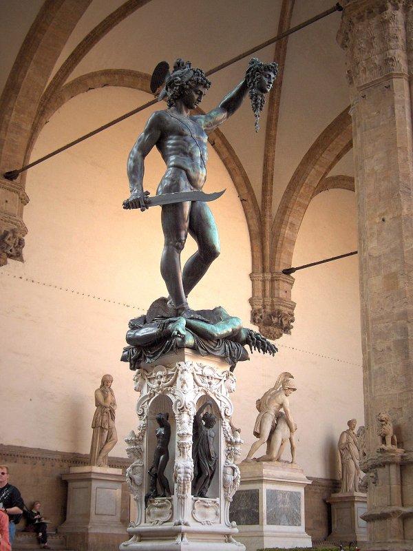 Persée vainqueur de Gorgone