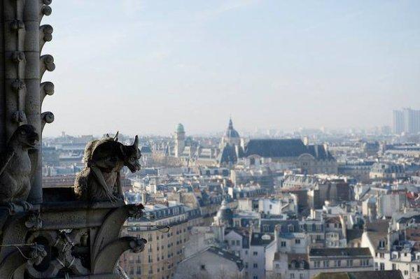 Il est ... 8 heures Paris s'éveille !