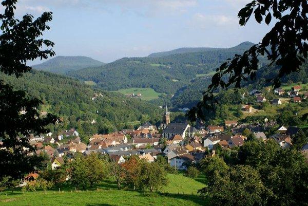 Merveilleux village.