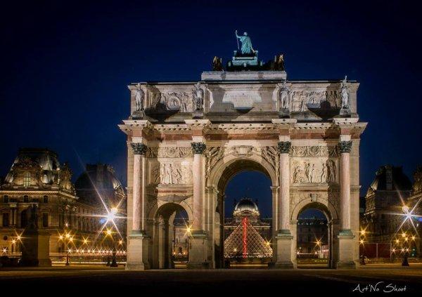 Paris : Arc de triomphe du Carrousel