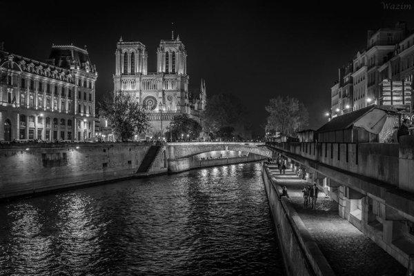 Promenade de nuit à Paris !