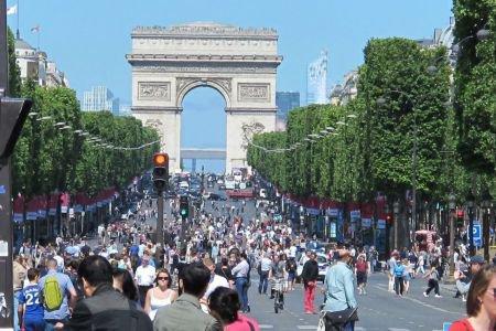 Les Champs-Elysées : pour piétons !!!