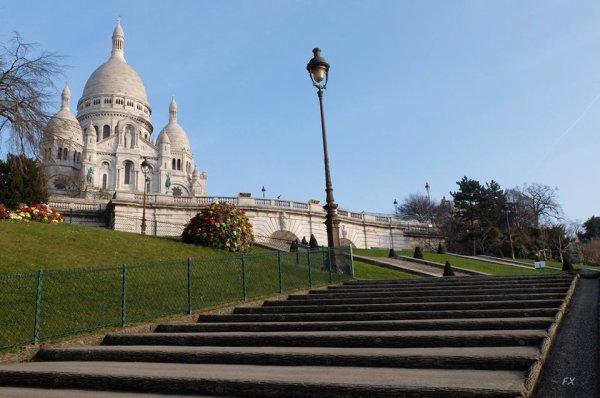 Montmartre au petit matin !