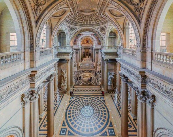 Le Panthéon : l'intérieur !