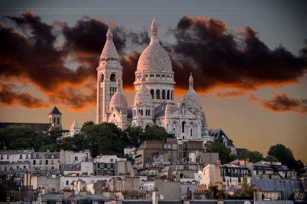 Un des plus célèbres monuments de Paris : Montmartre !