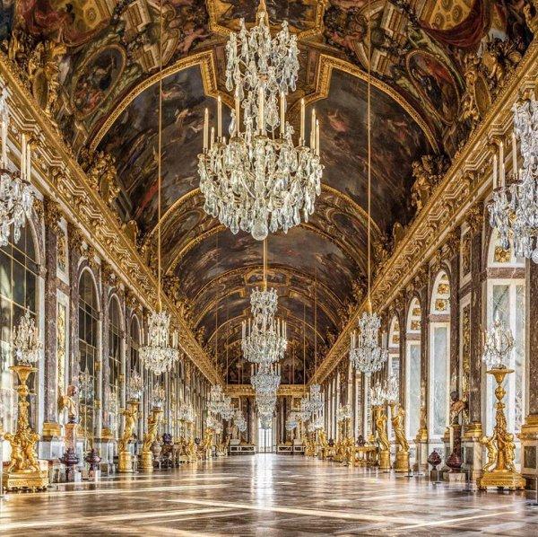 Un trésor de l'art : Versailles et sa fameuse galerie !!