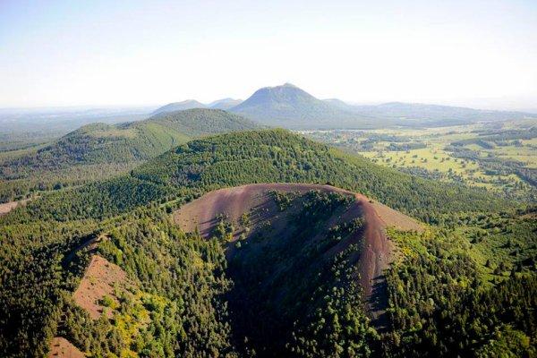 Les monts d'Auvergne : magnifique !