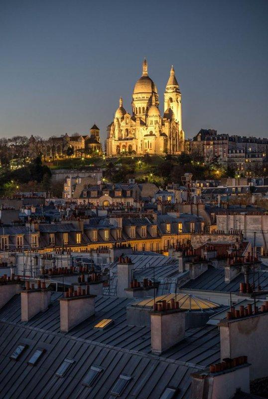 Le Sacré- C½ur de Montmartre !