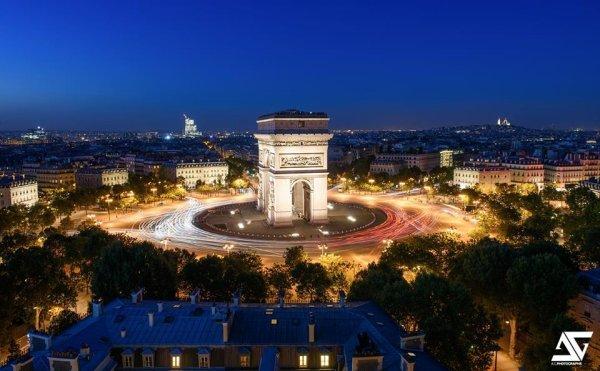 L'immanquable Arc de Triomphe de Paris !!!
