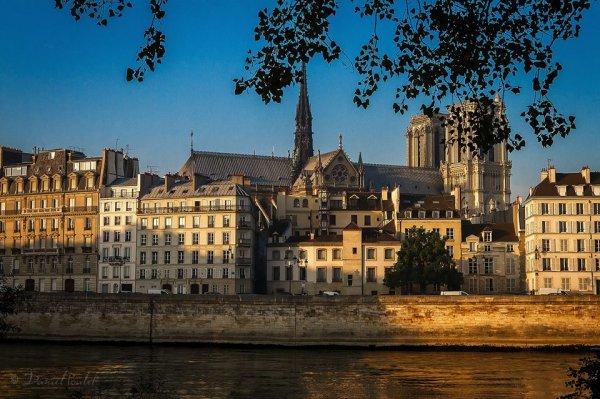 Coucher de soleil sur Paris !