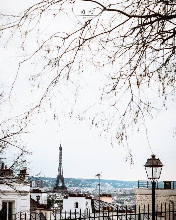Mon hiver à Paris !
