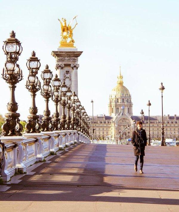 Perspective du pont Alexandre lll !