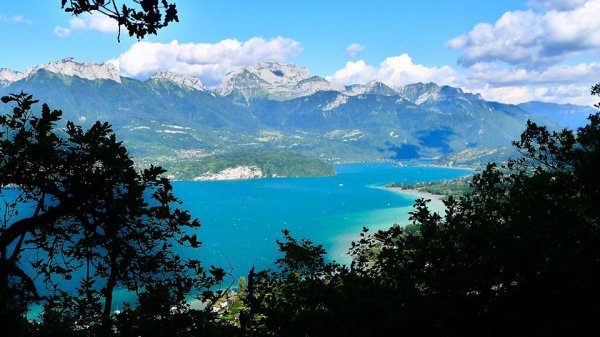 Superbe lac d'Annecy !