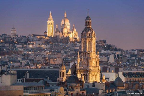 Dialogue entre le Sacré-C½ur et l'Eglise de la Trinité !