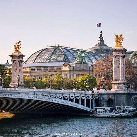 Le pont Alexandre lll et le grand palais !