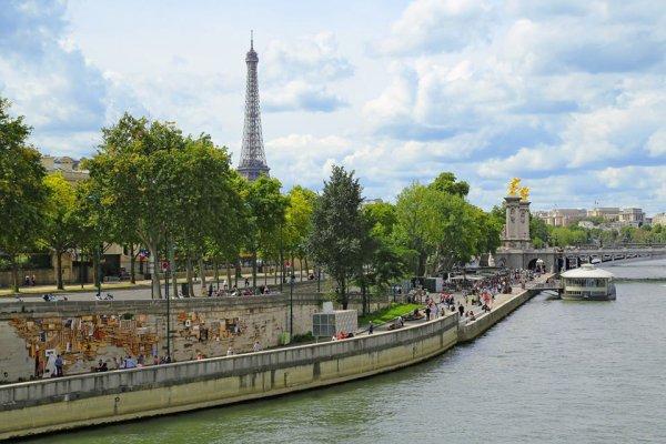 Superbe balade en bord de Seine !