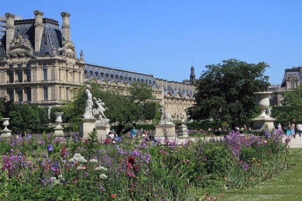 *Le jardin des Tuileries !!!
