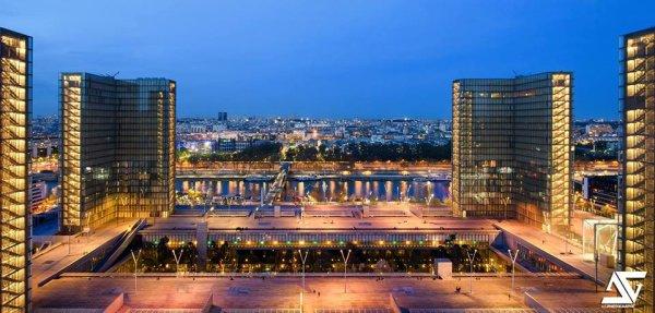 La Grande Bibliothèque Nationale de France !