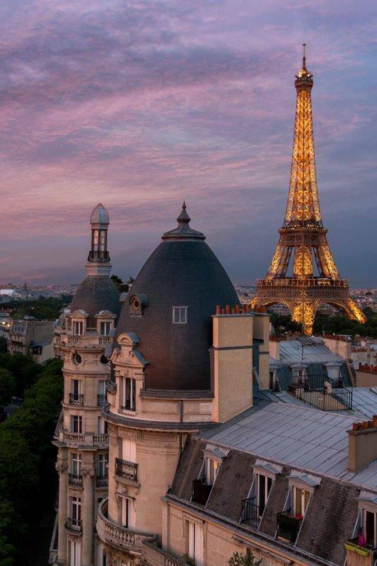 Bonne nuit Paris !!!