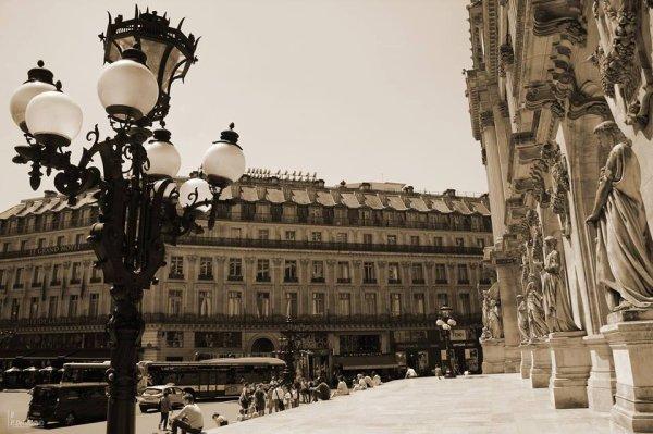 Façade de l'opéra : j'adore Paris !!!