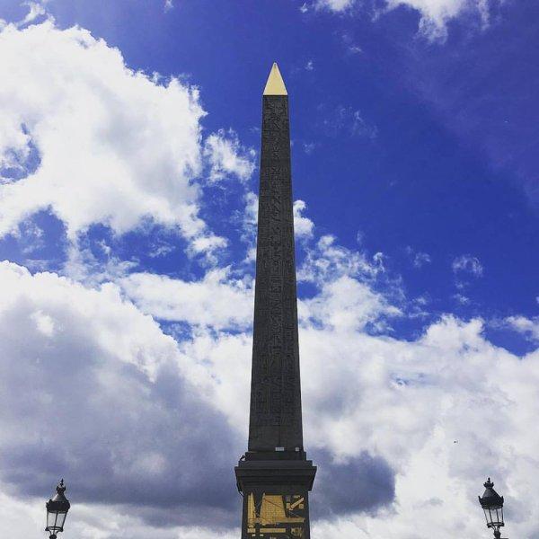 L'obélisque de la place de la concorde : de loin le plus vieux monument de la Capitale !