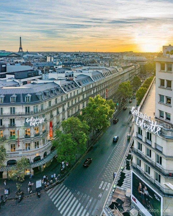 Paris : Le boulevard Haussmann !!!