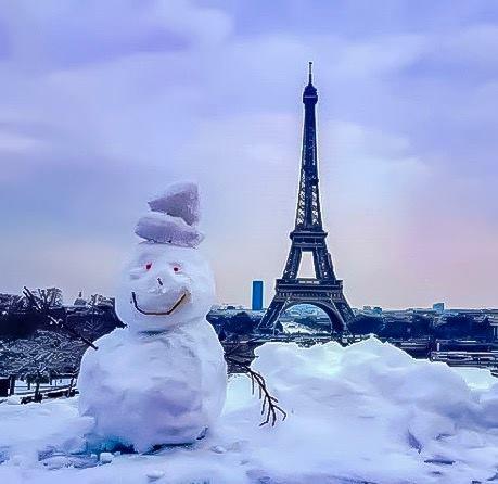 Et oui, pour nous aussi c'est la neige !!!