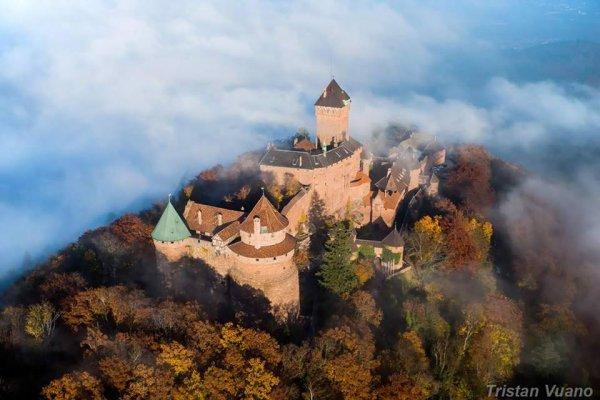 Château du Haut Koenisgsbourg en Alsace une splendeur !!!