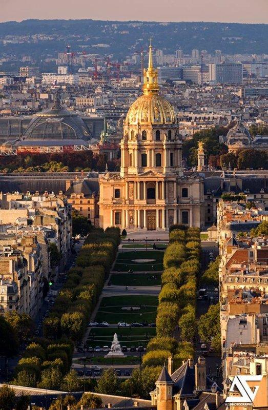 Lzs Invalides où repose l'Empereur Napoléon Ier !!!