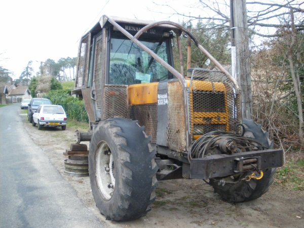 tracteur forestier occasion renault