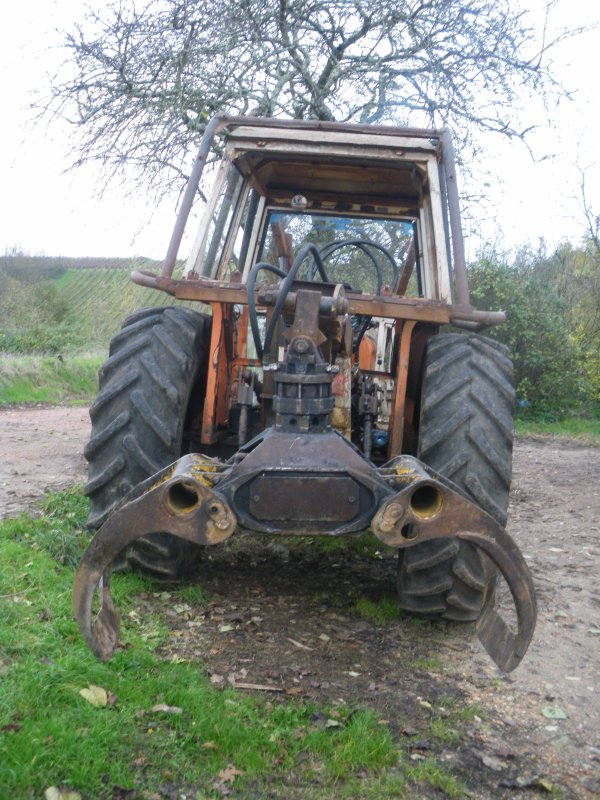 tracteur forestier someca
